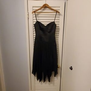 BCBGMaxAzria Black Corset Dress